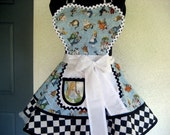Alice in Wonderland Cosplay Apron