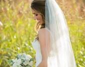 Long wedding veil ivory long veil white long veil