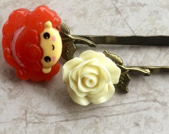 Accessories, Hair Accessories, Hair Pins Bobby Pins, Cabochon Pins, Swarovski Crystal Hair Pins
