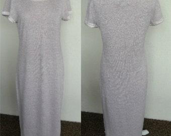 Vintage Victoria's Secret Collection Long Knit Dress Lounge Wear Hostess Gown