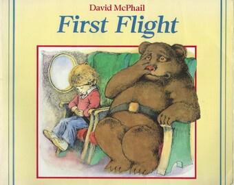 First Flight by David McPhail - Childrens Book
