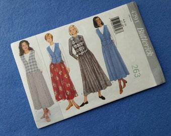 Uncut Vintage Dress Pattern - Butterick Vintage Sewing Pattern 4291 - Misses' Dress - sizes 6 8 10