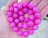 28 JADE Gemstone Beads 14mm - COD6773