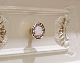 Antique Silver Metal Knobs Drawer Knob Dresser Knobs Cabinet Knobs / Kitchen  Cabinet Knobs Pull Handle