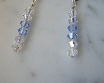 Swarovski Crystal Pendant Earrings