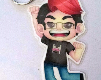 Markiplier Key Chain