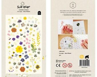 Deco Flower - Sonia Stickers - Translucent PVC Deco Sticker - 1 Sheet