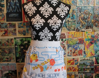 Pacman 1980's Vintage Apron-READY TO SHIP!