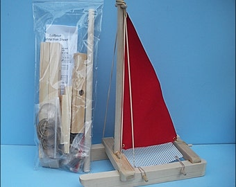 SAILBOAT KIT,Red Toy Sailboat,Wooden Toy Boat,Sailboat,Easter,Pool Toy, Birthday Party,Wood Boat,Toy Boat,Kit,DIY Boat Kit,Wholesale,Party