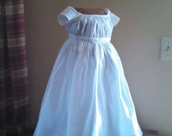 Civil War Baby's Dress (custom made)