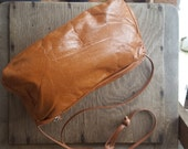 BUTTERSCOTCH     ///      Small Leather Bag