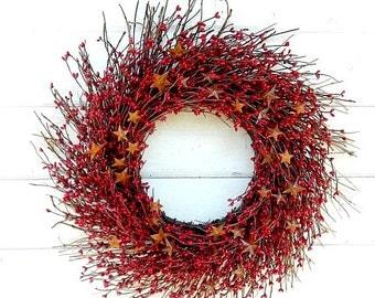 STAR Wreaths & Decor