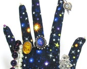 FREE Ship~Glows-In-the-Dark Starry Night Hand Jewelry Display REGULAR Style HAND-Stand