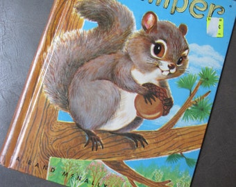 Scamper 1959 Elf Book Rand Mcnally   free shipping