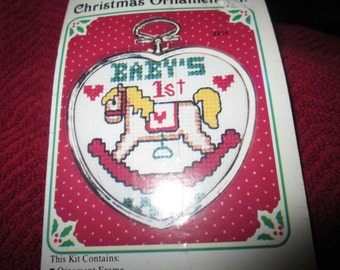 Baby's First Christmas Ornament Kit