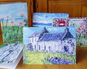 Greetings Note Cards West Coast Scottish Memories Print from Original Paintings