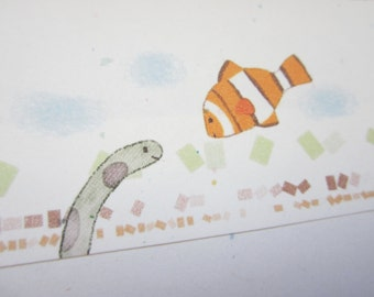10 envelope / clown fish