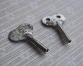 Vintage Soviet Russian USSR Wind Up Toy Keys