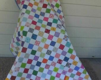 Handmade Scrap Lap/Kids Quilt
