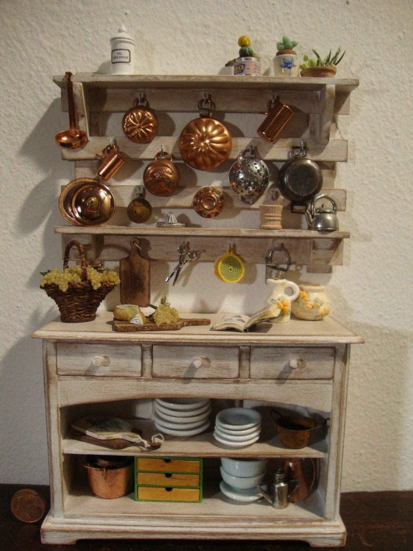 Dollhouse Miniature Kitchen Panel