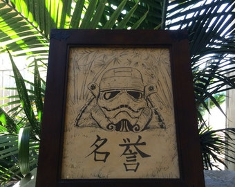 Samurai Stormtrooper Sketch