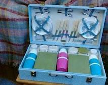 Vintage BREXTON 1960s Picnic Set Harrods