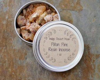 Piñon Resin, Wildcrafted Resin Incense, Trementina Resin,Pine Resin, Pine Pitch Incense, Space Clearing, Balancing Ritual,