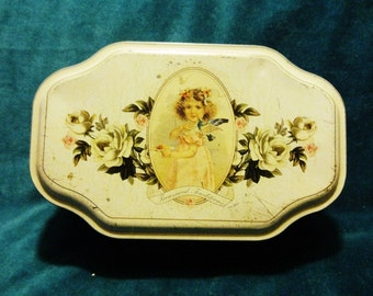 Shabby Chic Vintage Candy Tin