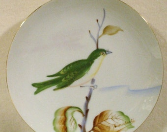Vintage Hand Painted Plate Signed By Y. Funabashi
