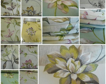 Joanne Fabric Sample Book - Drapery -Multipurpose-Embroidery-19pcs 12.5inx14inch- Floral
