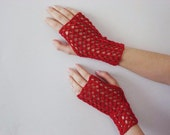 Boho Style Gloves -  Fingerless Gloves - Sexy Mitten For Elegance Women