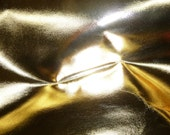 """Smooth Metallic Leather 8""""x10"""" Gold Foil Cowhide 2.5-3 oz / 1-1.2 mm PeggySueAlso™ E2485-15 Full hides available"""