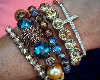 Good vs Evil - bracelet set of 3