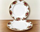 Royal Albert Old Country Roses Dinner Plates China