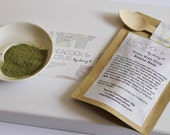 All natural Green With Envy Matcha Green Tea Beauty Mask Bridesmaids gifts & Wedding Favours