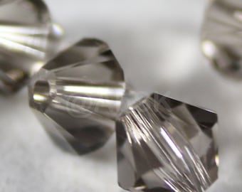 Swarovski Bicone Crystal Beads Xilion 5328 GREIGE - Available in 4mm and 6mm