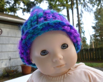 """Hat for bitty baby doll or other 15"""" - 18"""" dolls"""