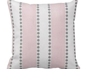 Throw Pillows,Pink Pillow Covers, Pillows for Couch, Decorative pillows,Striped Pillows,Rocking Chair Pillow, Pillow Sets, Euro Shams