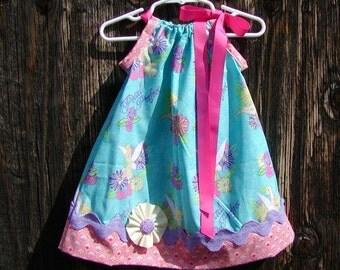 Tinker Bell Inspired...Girls Pillowcase Dress Infant toddler sizes 0-6, 6-12, 12-18, 18-24 months, 2T, 3T..Bigger sizes AVAILABLE