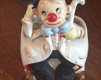 Vintage Clown planter Parma By AAI Made in Japan A-371