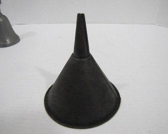 Metal funnel Vintage #071016