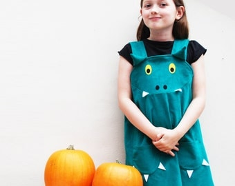 Dragon monster Halloween dress up fancy dress costume.