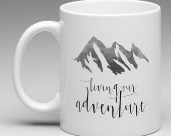 Mug - Living Our Adventure