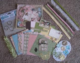 Graphic 45 - Once Upon a Springtime - Mini Album Kit