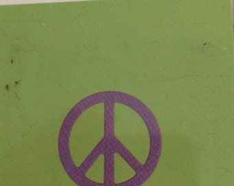 Lifestyle Crafts/Quickutz  PEACE SIGN