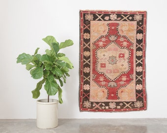 ABBAS 4x5.5 Hand Knotted Turkish Wool Rug