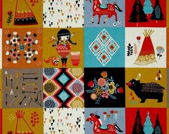 Wildland Patch from Birch Organic Fabric's Wildland Collection