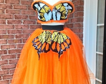 Monarch Butterfly costume created by LOLITA ALONZO