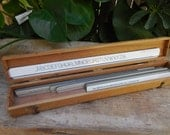 Vintage K & E Leroy Keuffel and Esser Co lettering rulers