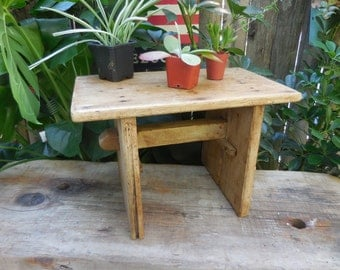 Vintage Hand Made Stool